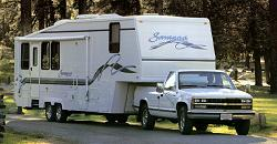fifth wheels and trailers
